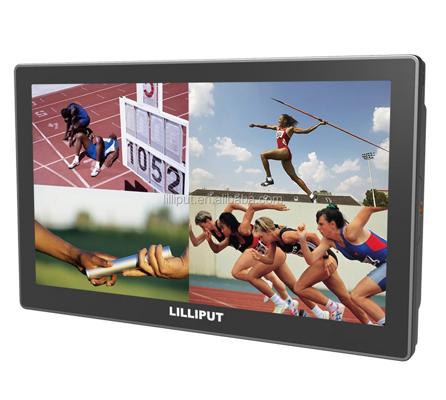 "LILLIPUT New The world's first 10.1"" 4K broadcast monitor"