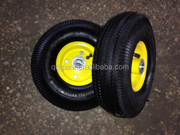 wagon wheels and axle 4.10/3.50-4