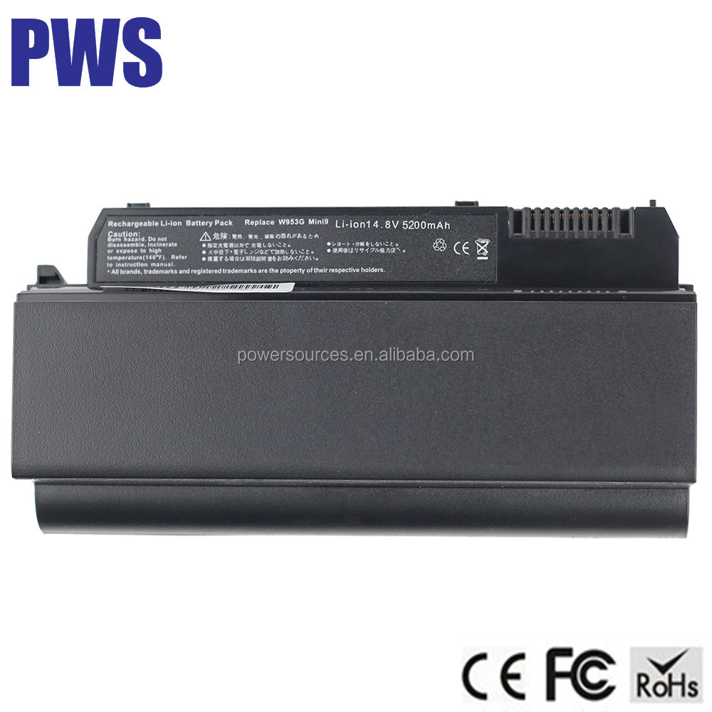 Laptop Battery for DELL Inspiron 910 MINI 9 battery Vostro A90 W953G 312-0831