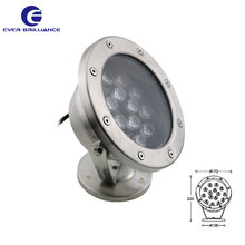 Decorative fountains IP68 underwater landscaping light 15W pool lights