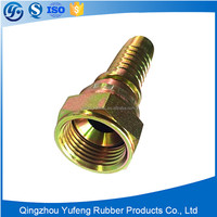 NPT/JIC/SAE/BSP/METRIC stainless steel forged hose fitting or connector