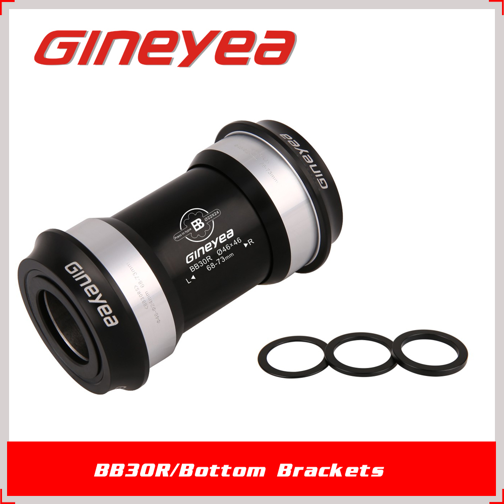 68mm Press fit PF30 thru <strong>axle</strong> Si3N4 ceramic ball <strong>bearing</strong> bicycle bottom brackets for Road bike/MTB