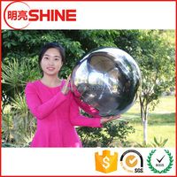 Wholesale large hollow stainless steel gazing ball