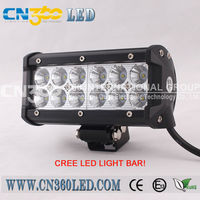 wholesale led light bar 36 watt 7 inch high intesfy led disco bar light