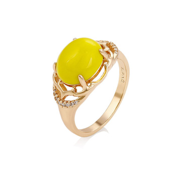 14673 xuping jewelry ancient royal style 18k gold color ring for women