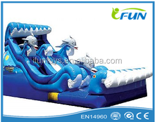 top selling inflatable water slide / giant inflatable water slide / inflatable dolphin water slide