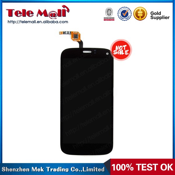 black color replacement for wiko lcd touch complete