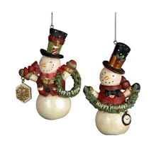 Resin wholesale christmas personalized ornaments