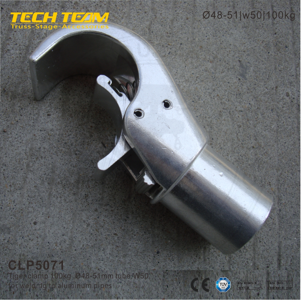 CLP5071 aluminum clamp, aluminum quick release claw clamp