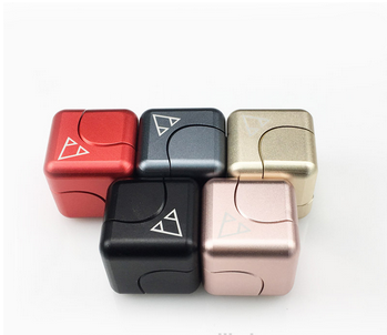 High Quality New Designed Square PCC Fidget Spinner Hand Cube Finget toy for Playing