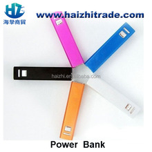 less than $2 mobile power bank metal case with LED indicator square shaped mobile phone power bank Rechargeable Portable Battery