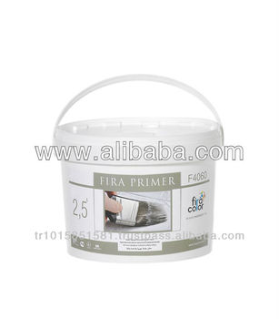 Fira Primer Acrylic Based Undercoating Paint to increase adherence of putty-consistency