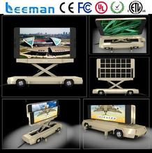 message board trailer 2015 Leeman LED Motorcycle billboard outdoor advertising