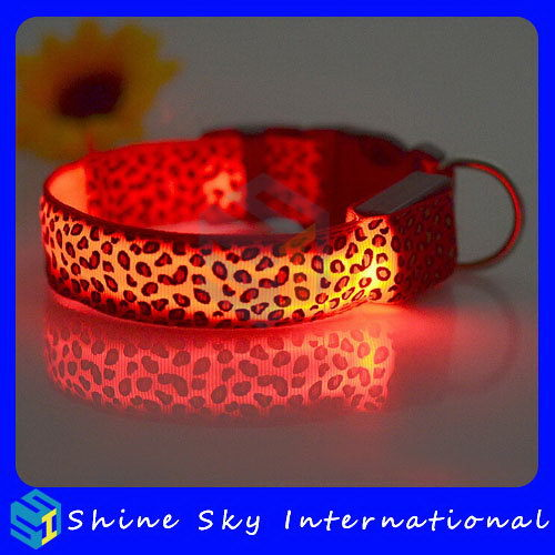 Design New Products Flashing Collar For Large Dog
