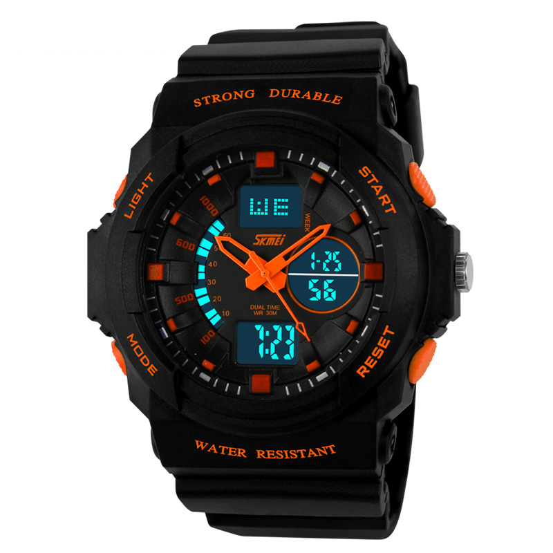 2014 skmei newest OEM unique ABS case multifunction sport watch