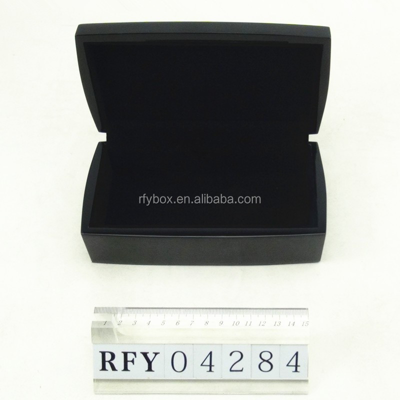 small black glossy lacquer wooden gift & perfume box wholesale