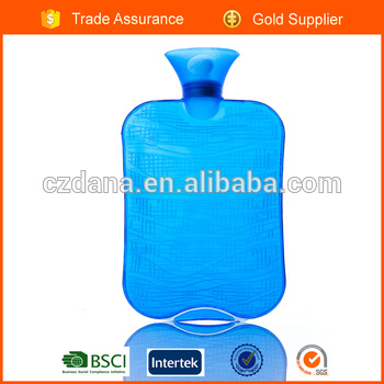 ice bag square hot water bottle with BS certificate