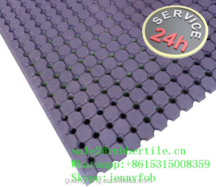 10 meters natural rubber anti fatigue rubber truck bed mats,tray UTE rubber mat
