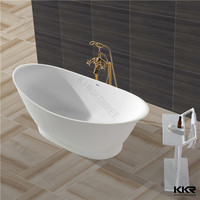 Wholesale freestanding solid surface low price bath tubs
