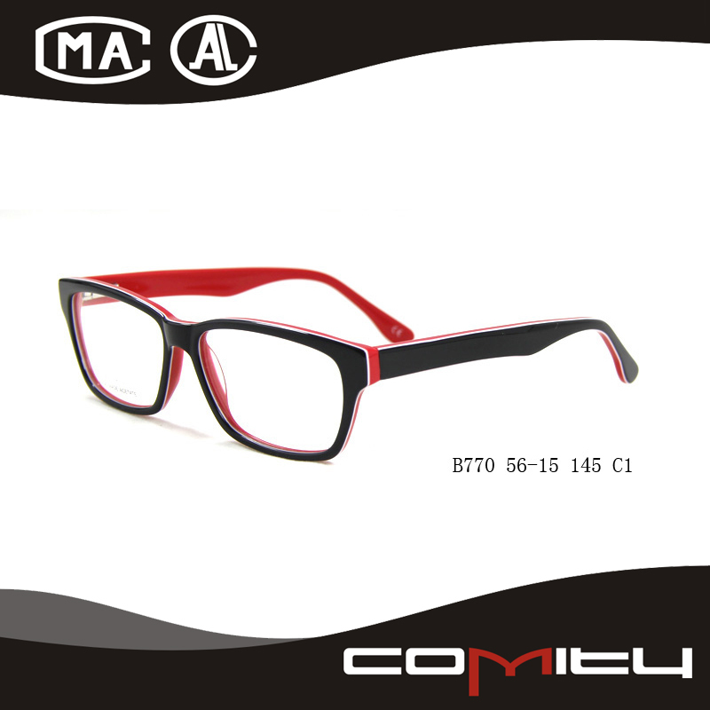 Wholesale fashion newest 2015 new model bright color glasses frames