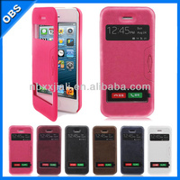 wallet flip design Pu leather mobile phone case for iphone5 iphone5c iphone5s