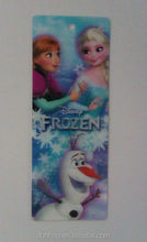 Hot 3D lenticular Printing frozen bookmark for gift