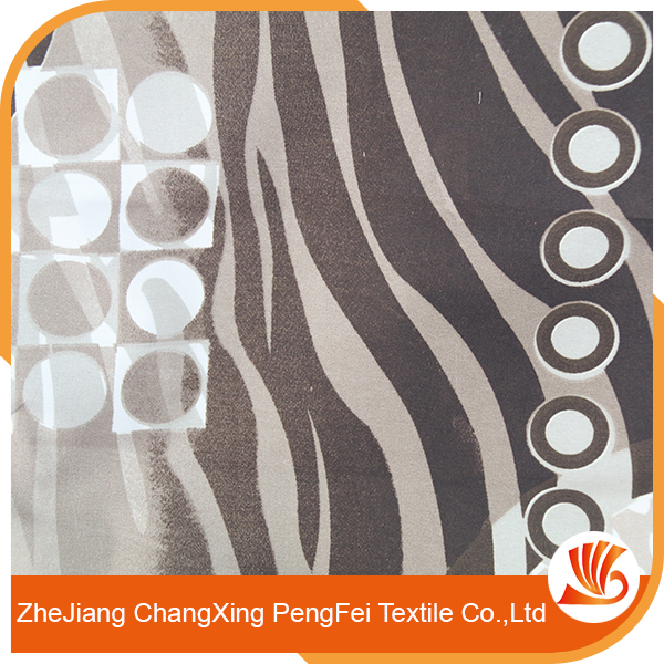 Super real wax print stripe fabric with high quality