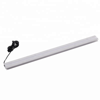 A2102 A2103 Elegant Design 6mm To 8mm Thickness White And RGB Color LED Glass Shelf Clip Light