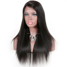 overnight delivery indian remy human hair straight 360 lace frontal wig