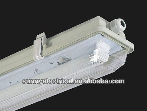 T8 waterproof fluorescent light fixtures ip65