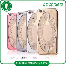 Phone accessories electroplating clear soft tpu case for iphone 5 best selling hot chinese products