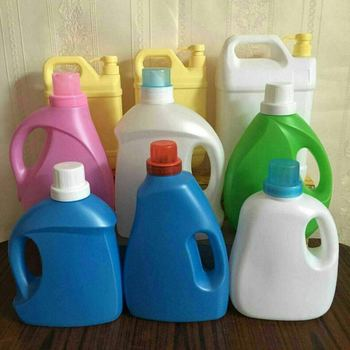 Best selling 3L plastic laundry detergent bottle liquid bottles with cheap price
