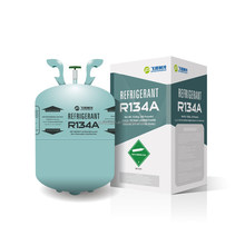 99.95% Refrigerant gas R134a with China factory price