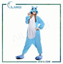 ALQ-A067 Wholesale changshu costume supplier animal pajamas adult onesie