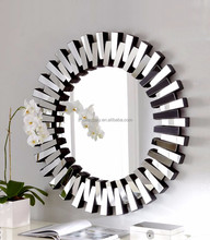 2017 hot sale Decorative Usage and Float Shape modern decorative wall mirror