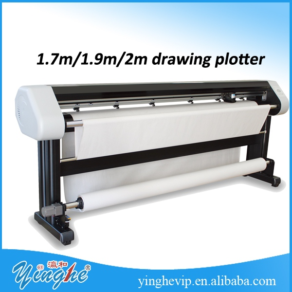 high precision cad inkjet plotter for cloth pattern