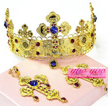 hair band baroque india wedding designer wedding tiaras crown wedding crown bride crown tiaras