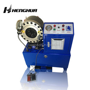 hydraulic hose crimping machine 6-51mm fully automatic crimper machine with 10 sets of dies
