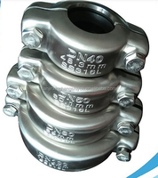 "flexible type 1.5"" DN40 48.3mm female & male threaded coupling for pipe joint with OEM factory"