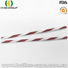Wholesales Hard Reusable Plastic Fancy Straw, Boba Straw