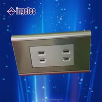 YiWu No.1 North america approve zigbee floor outlet electrical power wall socket