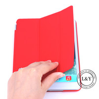 For ipad mini smart cover, for ipad mini crystal back case