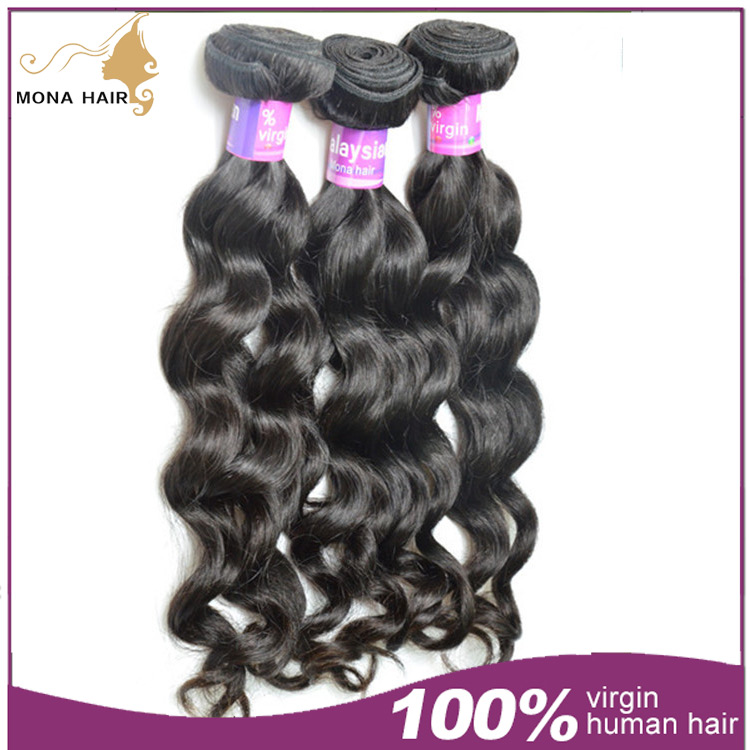 2016 hot sale malaysian hair weave bundles remy hair brand names 7a 100% human hair