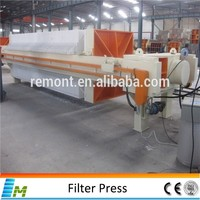 Automatic palm oil filter press