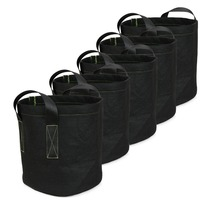 gardening greenhosues Grow Bags 3 Gallons, ipomelo Tomato Vegetables Herbs Fruits Plants Fabric Grow Bag/ Fabric Smart Pot
