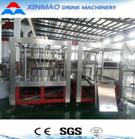 Gas water filling machine, Carbonated / Energy / Gas Drink Filling 3in1, Soft Beverage Filling Machine