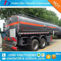 Chemical Liquid Transport Tank Semi Trailer