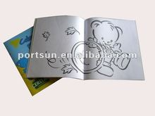 kids fashion drawing book with cartoon simaple picture