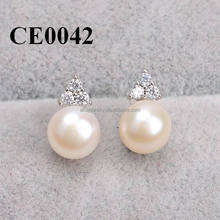 2016 Promotion Silver Earrings Fashion High Quality Classic Giveaways