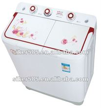 silk-screen cover twin tub washing machine